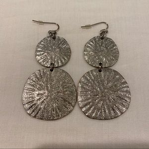 Silver Stacked Earrings
